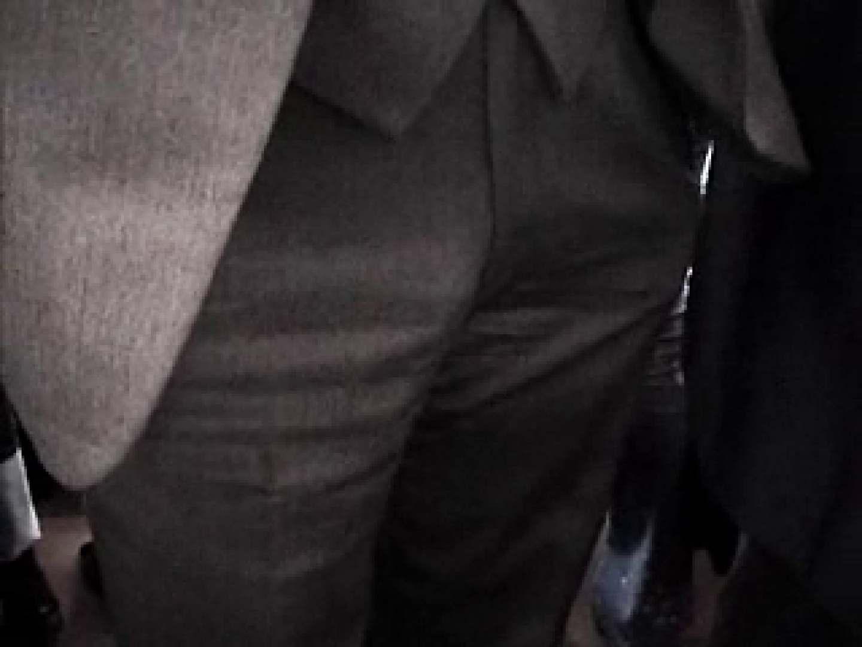 電車リーマン股間撮影 スーツ男子 ゲイモロ見え画像 96枚 29