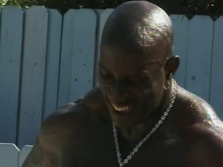 ブラックマッチョマンの壮絶イキ顔! フェラシーン | 白人男子  106枚 21