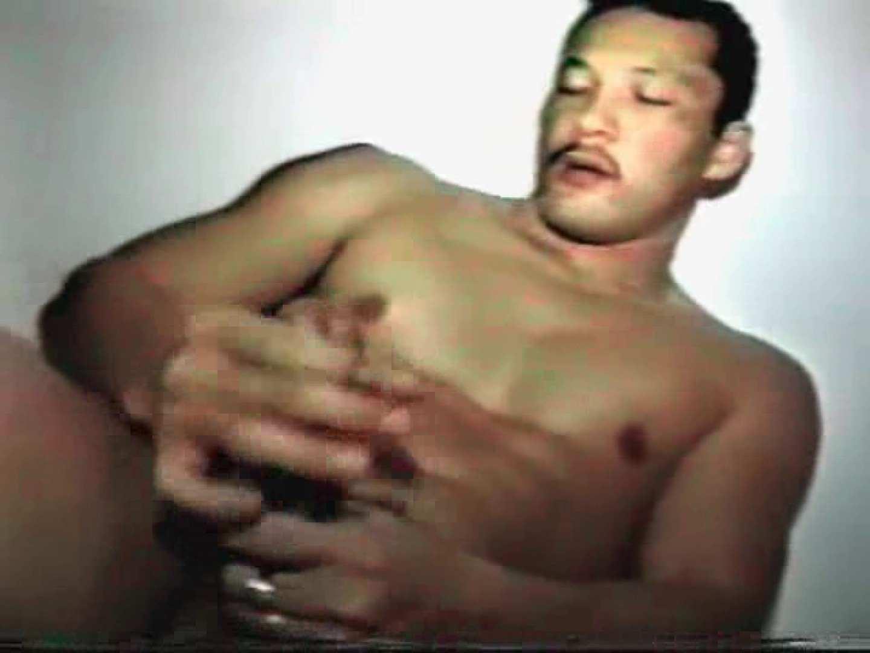 コワモテ風中年男がオナニーを公開!! シコシコ男子 ゲイ丸見え画像 107枚 77