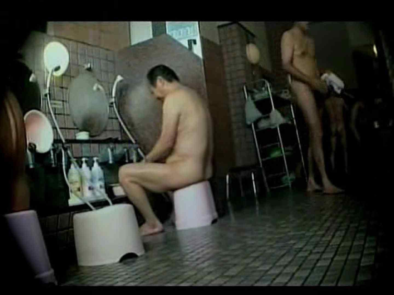 中年ノンケ男達のお風呂場は覗く! 覗きシーン  79枚 72
