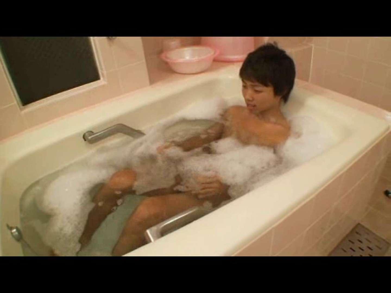 ジャニ系イケメンノンケのお風呂でオナニー❤ スジ筋系男子 ゲイ無修正画像 102枚 51