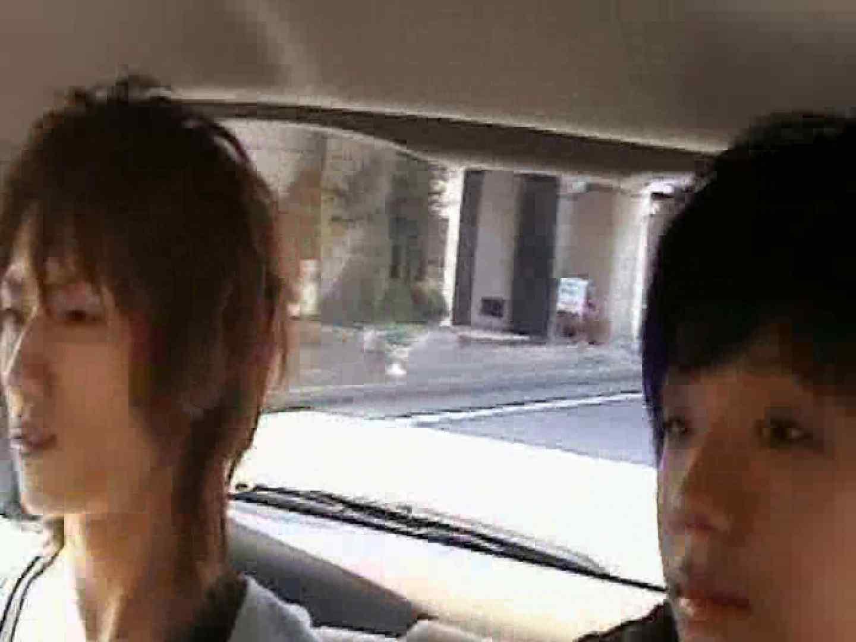 車の中で我慢しきれず発情するゲイカップル スリム美少年系ジャニ系 ゲイ精子画像 90枚 6