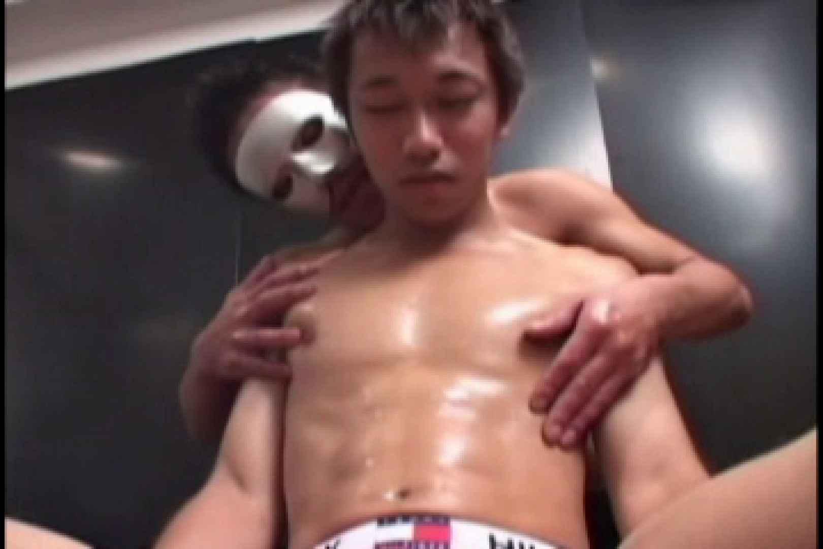 スポメン鍛え上げられた肉体と反り返るモッコリ!!03 オナニー編 男同士画像 62枚 2