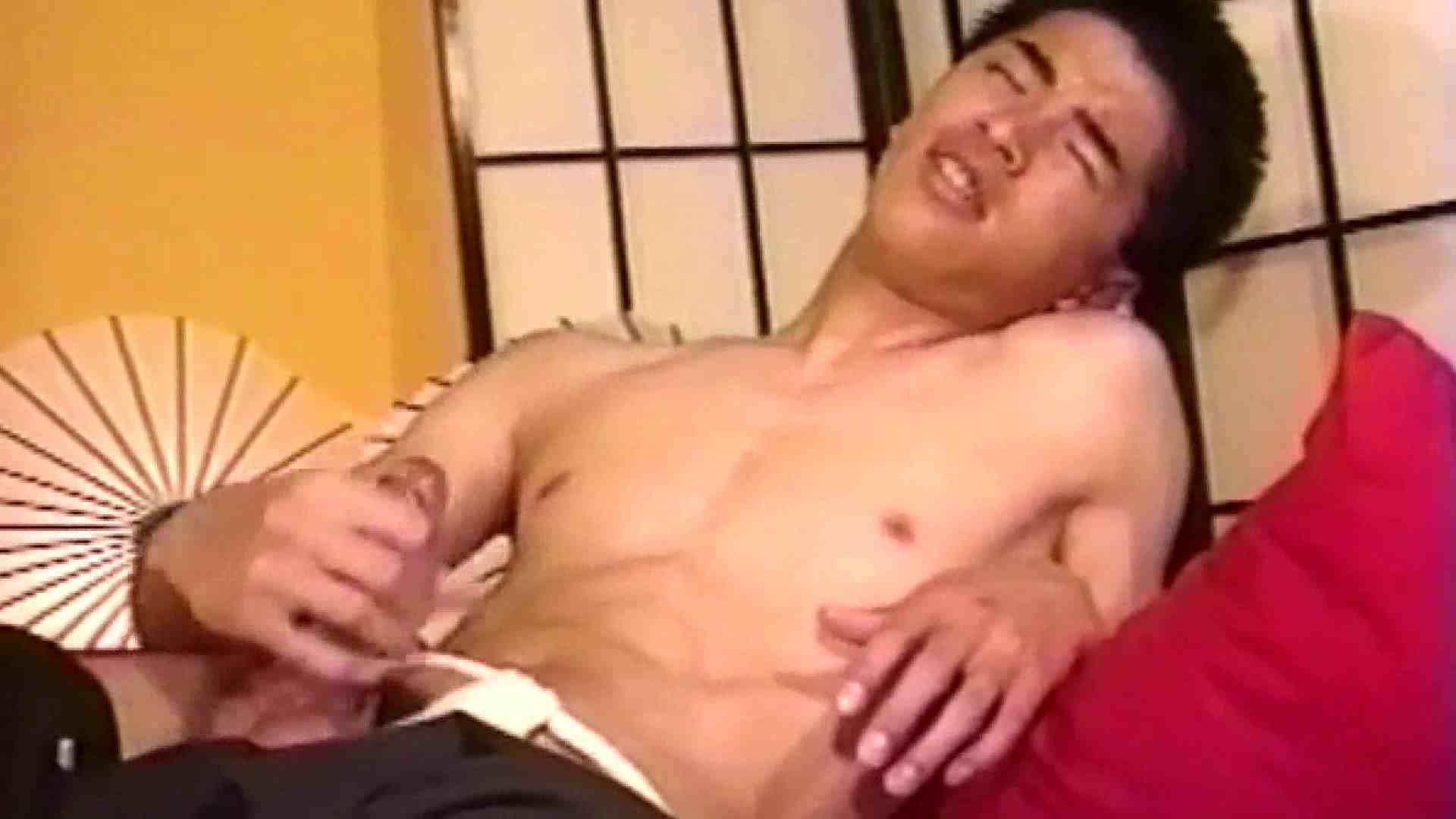 畳の上で和風オナニー 男・男・男  64枚 42
