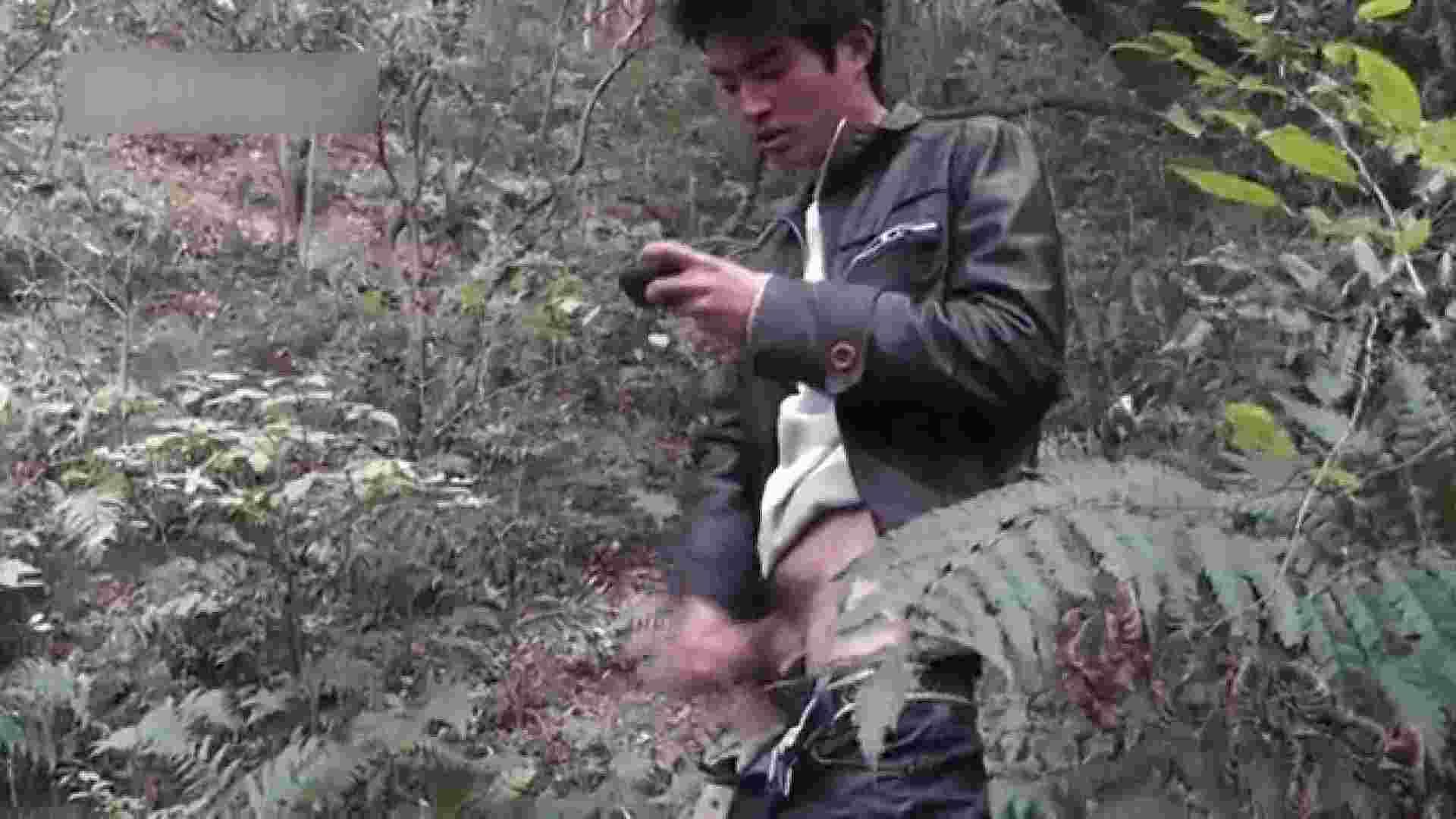 森林浴とオナニー フェチ ゲイSEX画像 92枚 60